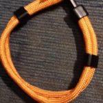 Narancssárga Simple Horgony Karkötő